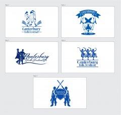 Canterbury Folk Festival Logos